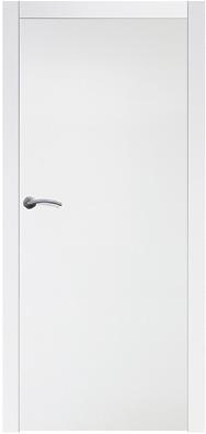 Gładkie białe drzwi wewnętrzne Boksze 10 gładkie - Drzwi CAL
