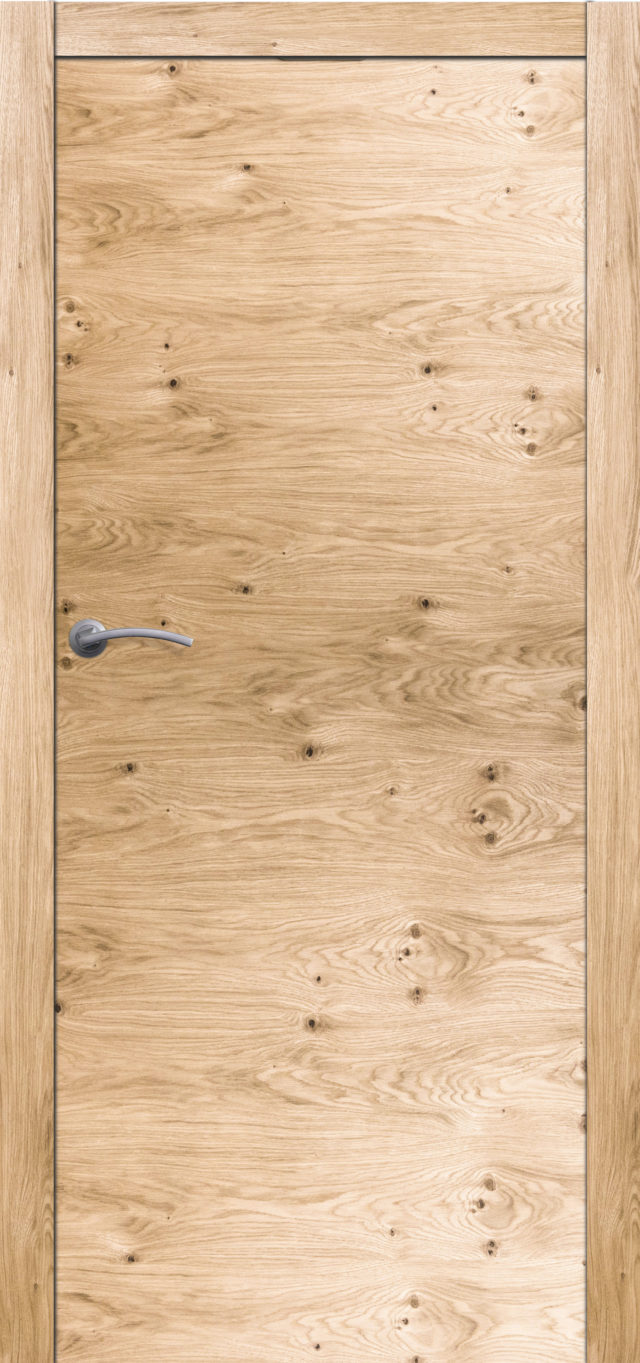 Drzwi drewniane pokojowe dębowe z sękami Boksze 20 - Drzwi CAL