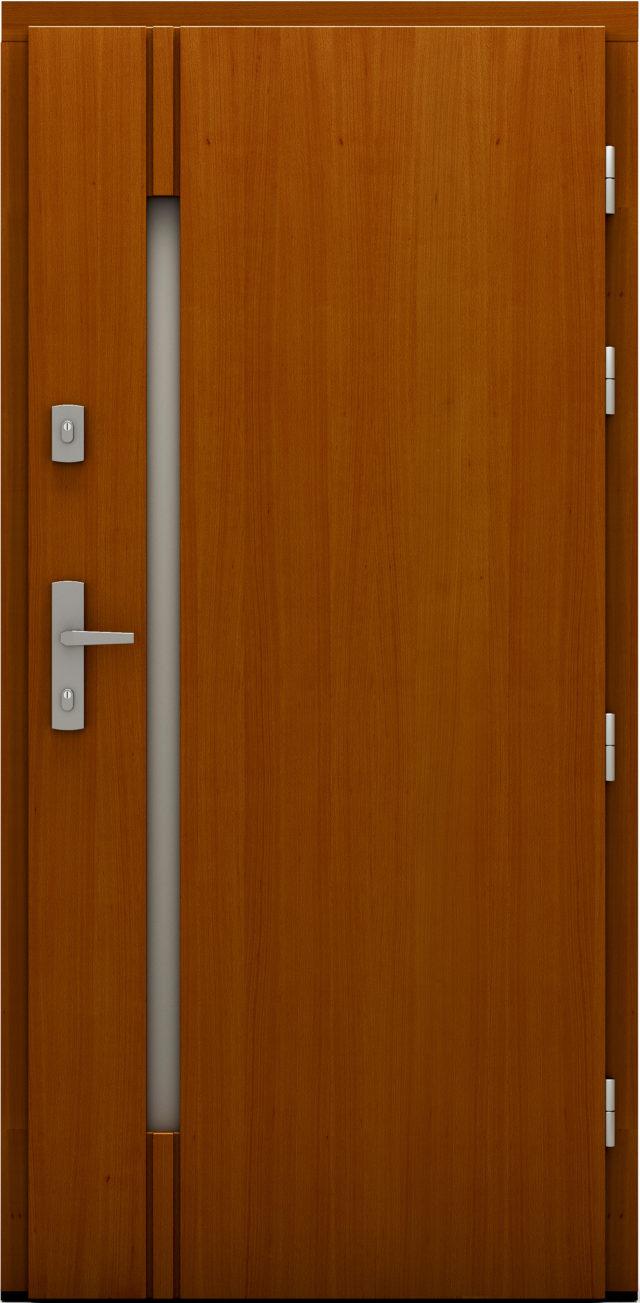 Drzwi wejściowe Dragon drzwi cal