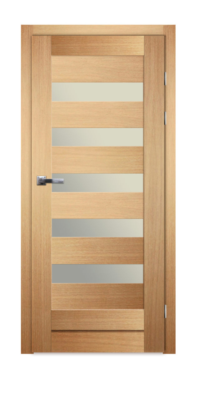 Pokojowe drzwi z pięcioma przeszkleniami Gremzdy 15 - Drzwi CAL