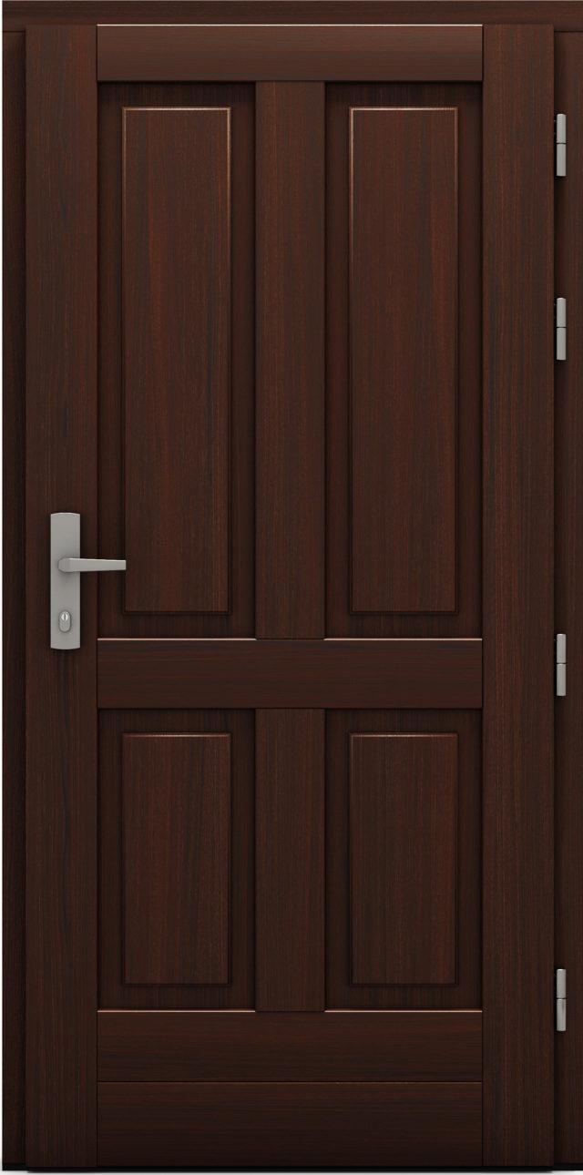 Drzwi wejściowe Koruna drzwi cal