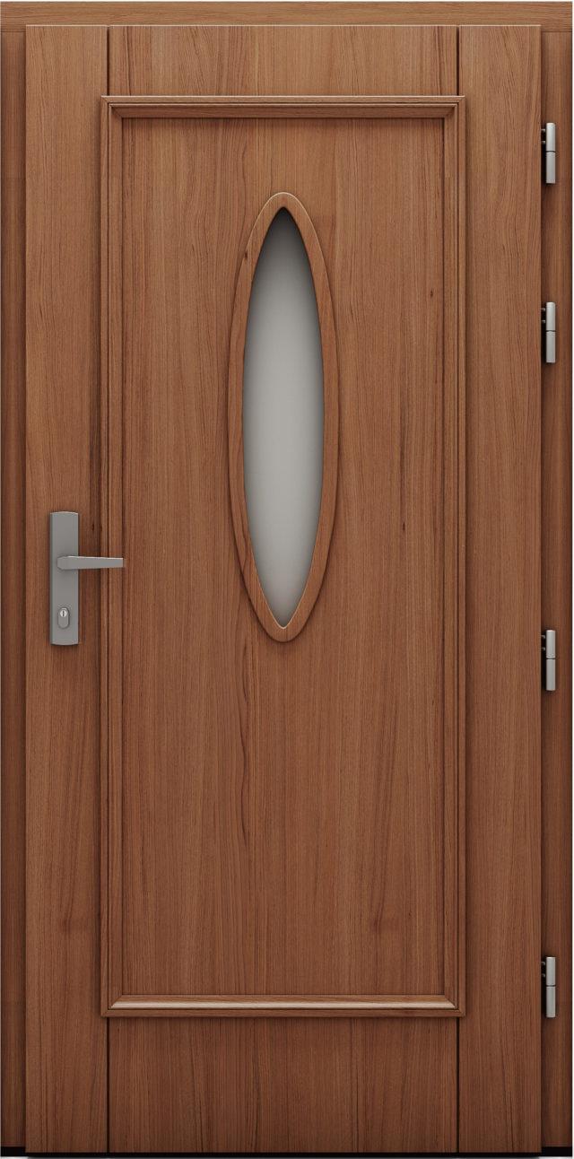 Drzwi wejściowe Okragle drzwi cal
