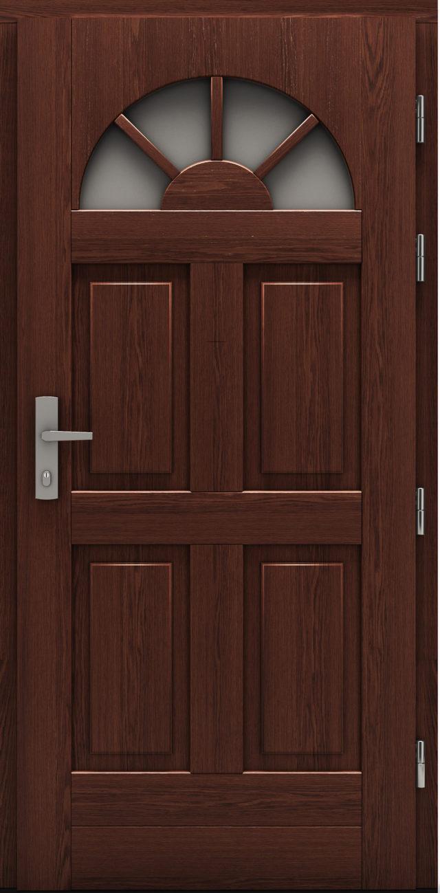 Drzwi wejściowe Szczeliniec drzwi cal