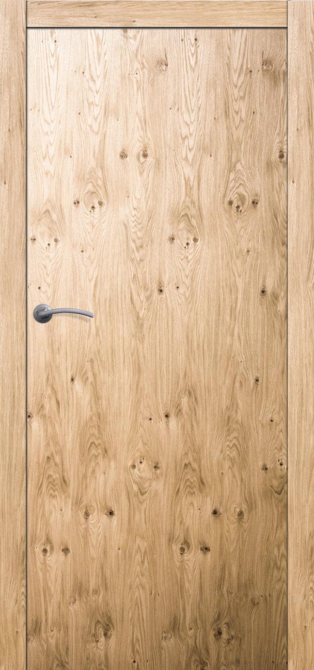 Drzwi drewniane pokojowe z strukturą drewna Boksze 10 - Drzwi CAL