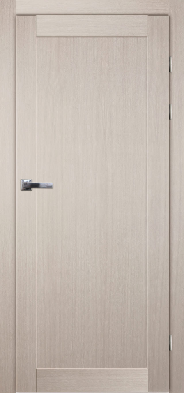 Pełne dębowe drzwi pokojowe w nowoczesnym stylu Okmin - Drzwi CAL