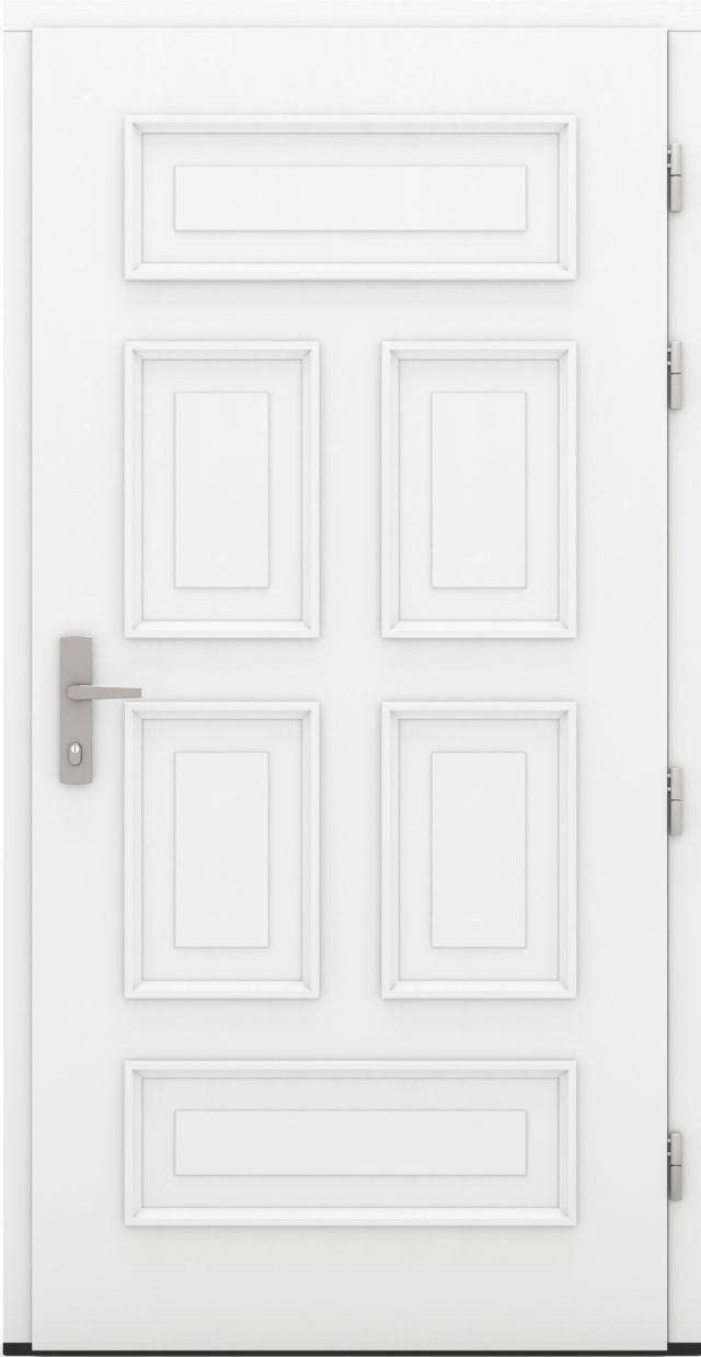 Drewniane drzwi wejściowe Adelajda