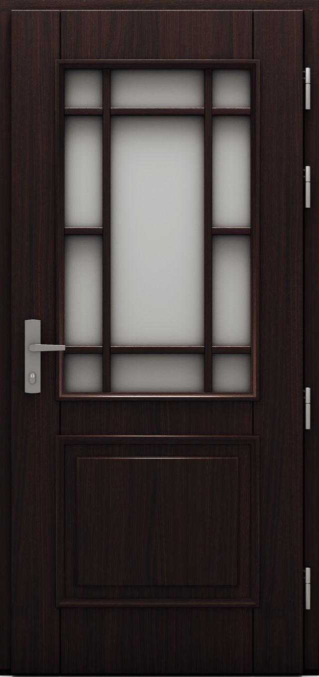 Drzwi zewnętrzne drewniane drzwi cal Wiktoria