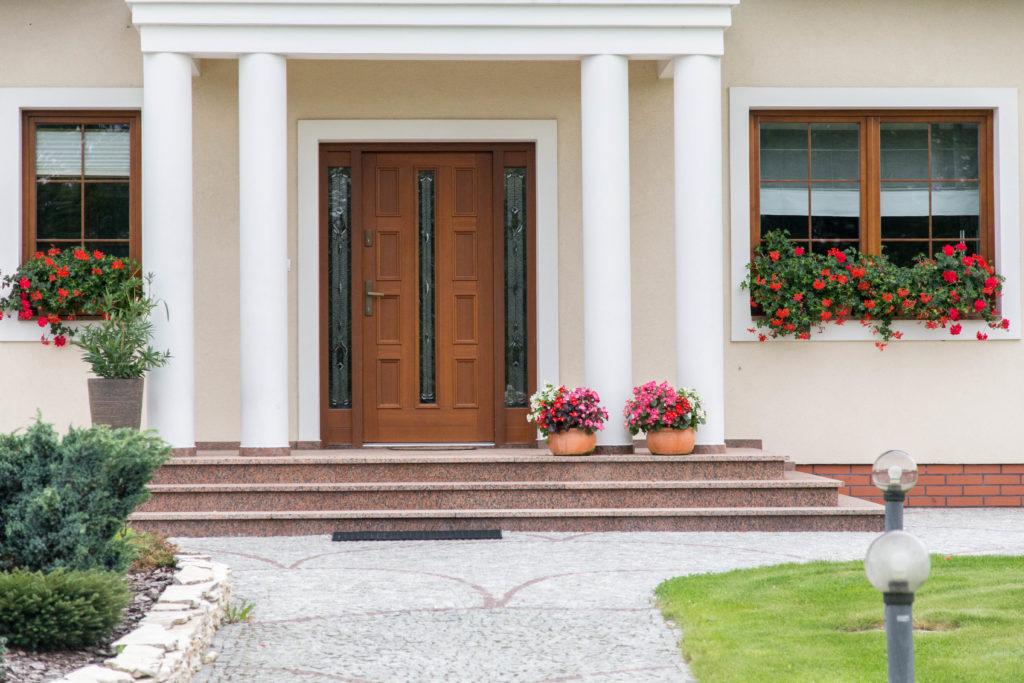 drzwi zewnętrzne rustykalne