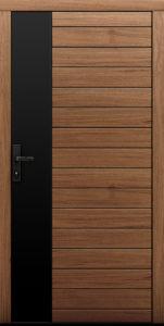 Drzwi zewnętrzne z naturalnego dębu Piceo - Drzwi CAL