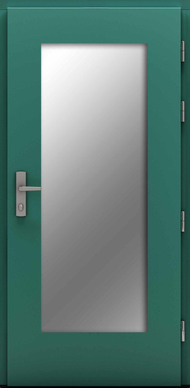 Przeszklone drzwi zewnętrzne Jagienka Maxglass