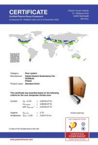 Certyfikat z Darmstadt