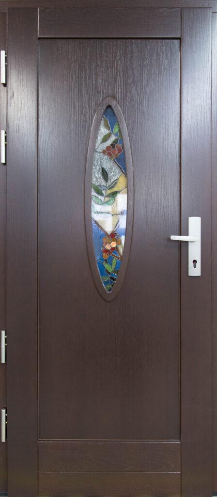 witraż do drzwi
